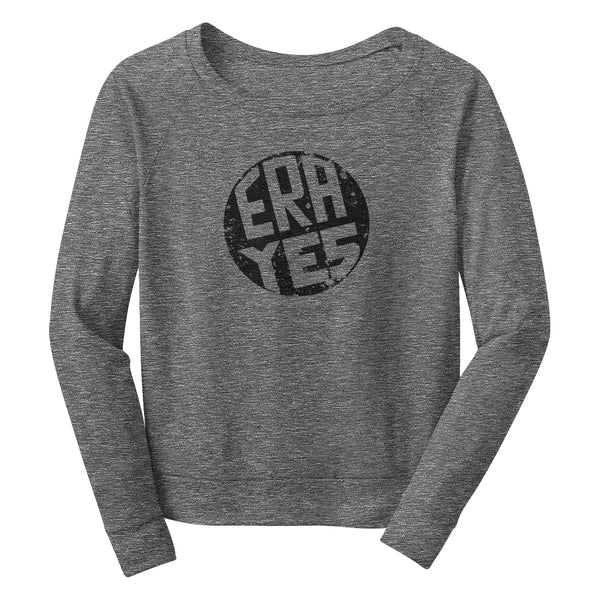 ERA YES Wide Neck Sweatshirt