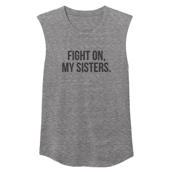 FIGHT ON Unisex Muscle Tee