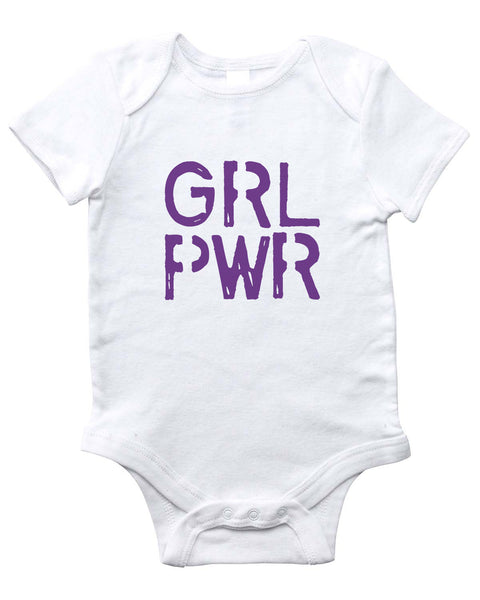GIRL POWER Onesie (White)