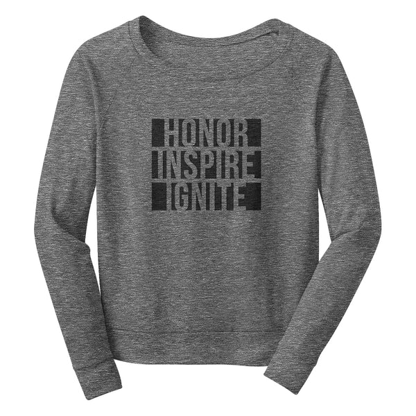 HONOR INSPIRE IGNITE Wide Neck Sweatshirt
