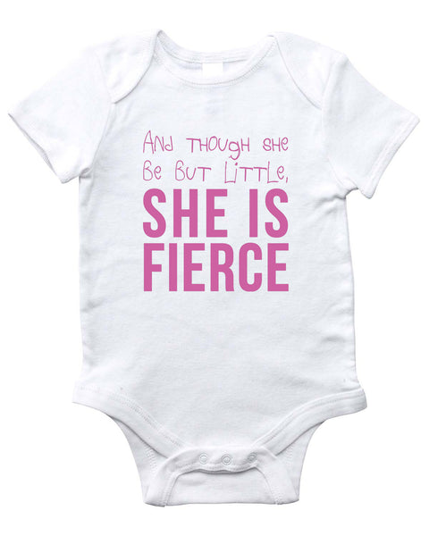 FIERCE Onesie (White)