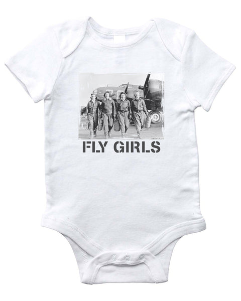 FLY GIRLS Onesie (White)