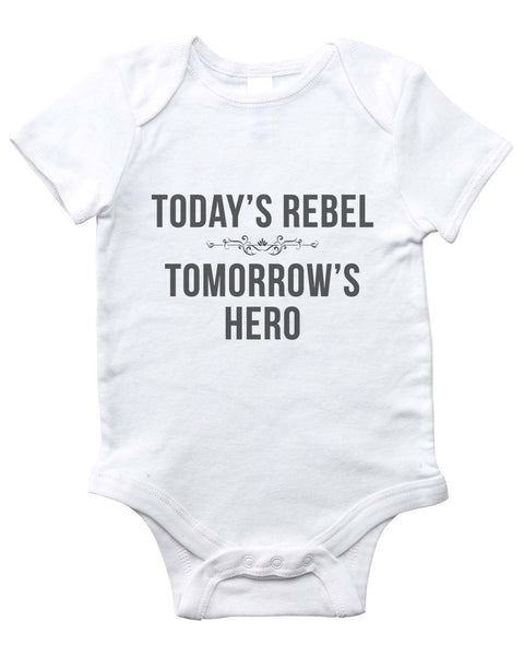 REBEL/HERO Onesie (White)