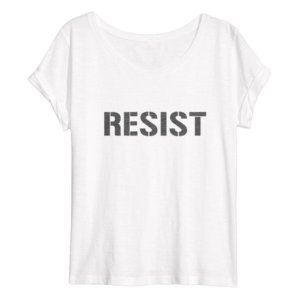RESIST Flowy Women's T-Shirt