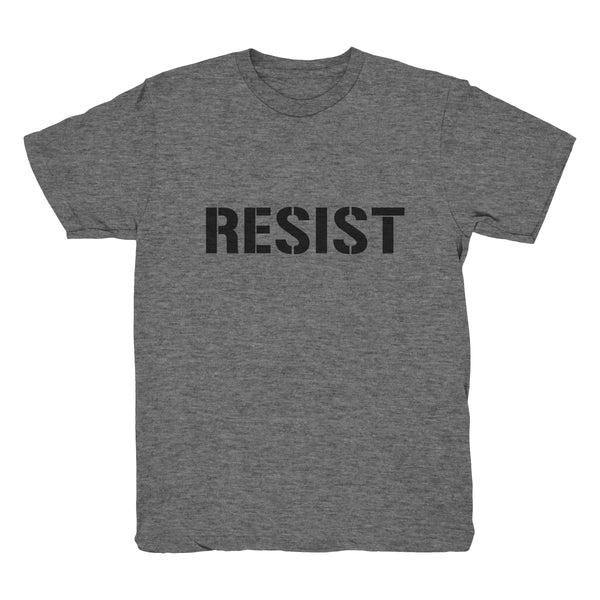 RESIST T-Shirt (Youth - Grey)