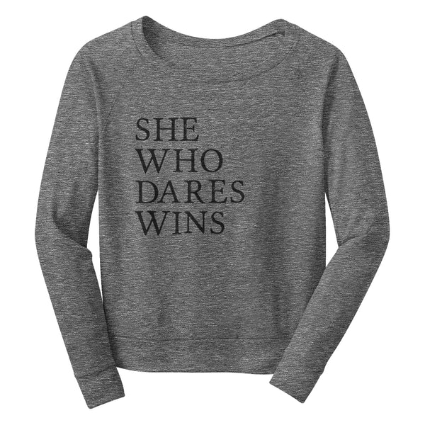DARES Wide Neck Sweatshirt