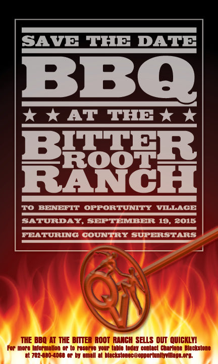BBQ at the Bitter Root Ranch