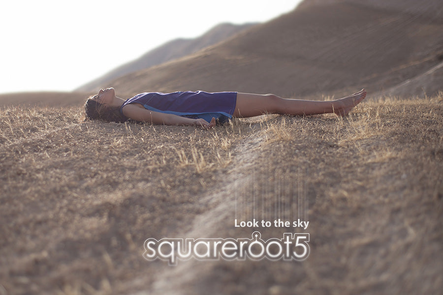 Squareroot5 Fashion Poster 2016 Desert Look to the Sky