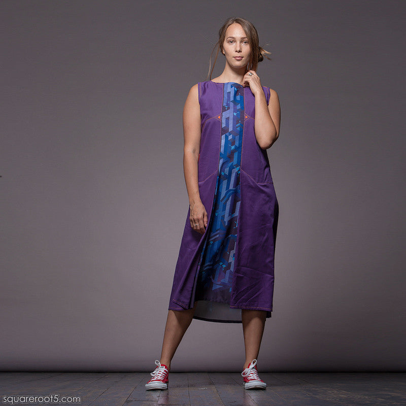 "The ""Cosmic Tetris"" dress. V2-Cube - Squareroot5 - 2"