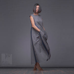 Unique long dresses. Modern gowns by Squareroot5 wear