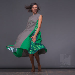 Unusual and non traditional summer dresses by Squareroot5 fashion