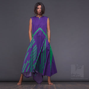 New aesthetic dance dress -unusual  gifts for her. Unique long summer dress for tall women with futuristic design