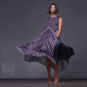 "New aesthetic modern dress ""Wingbeat"" unusual birthday gifts for her"