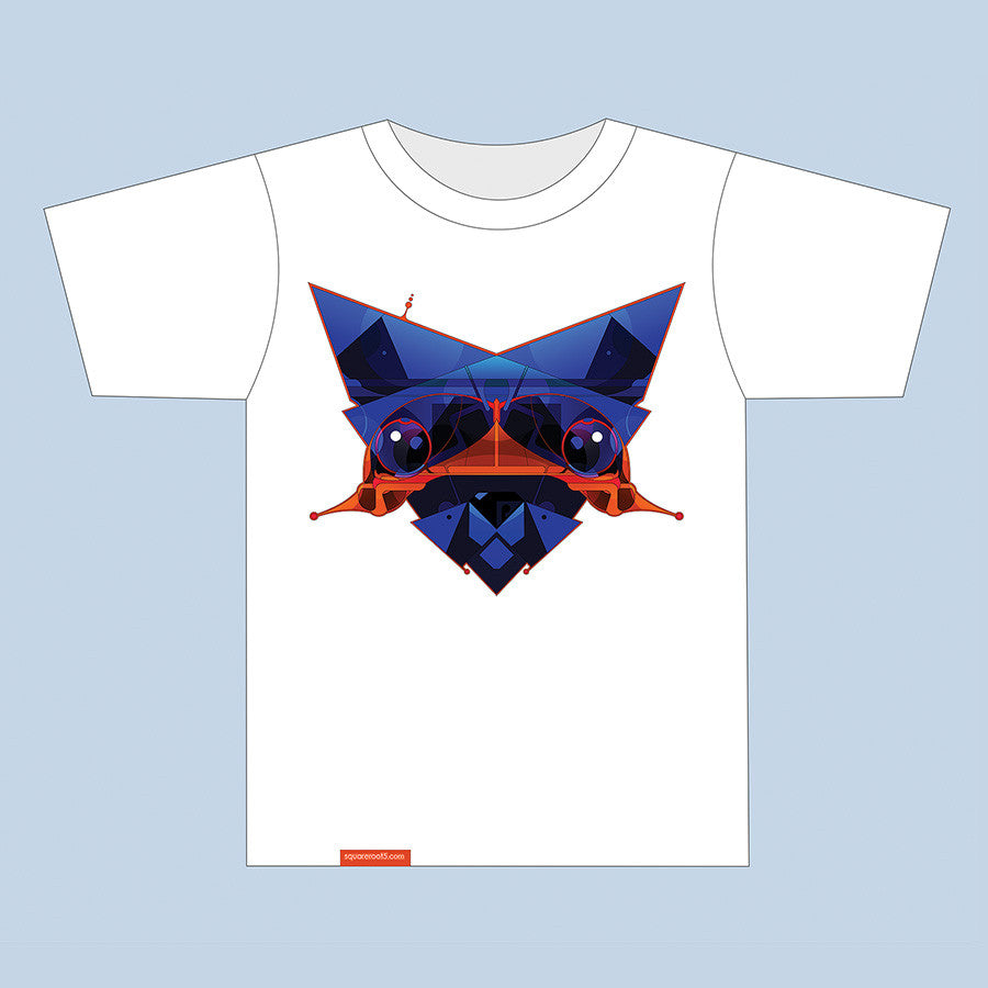 "T-Shirt ""Antistress Cat Antennoid"" - Squareroot5 - 3"