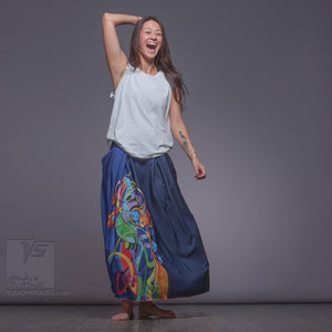 Unusual bright long ladies skirts Innovation fashion.
