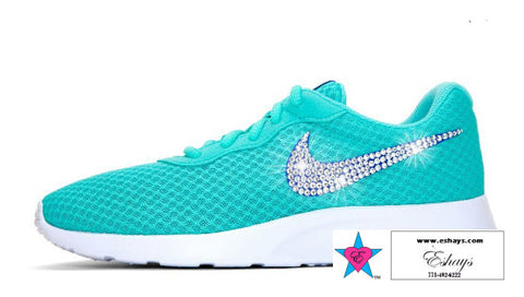 http://www.eshays.com/products/custom-gamma-blue-nike-nike-tanjun-womens-running-clear-rhinestone-swoosh-bling-fitness-shoes-crystal-running-shoes-glitter-nike-eshays
