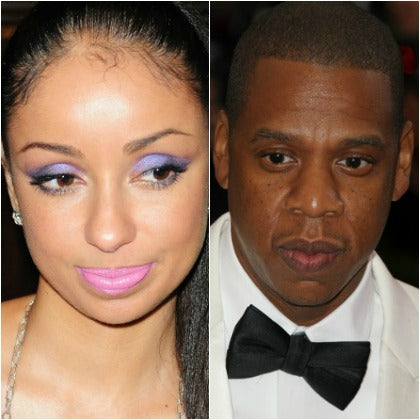 Jay Z and singer Mya Affair