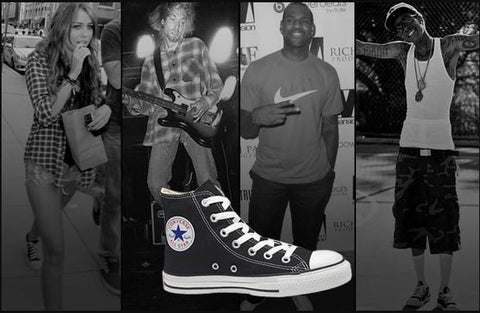 A List Celebrities Wearing the Converse Chuck Taylor All-Star