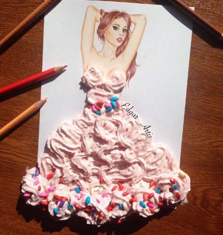 Whip Cream Dress
