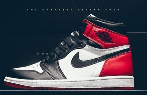 Air Jordan 1 High Black Toe