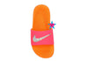girl nike slides with fur
