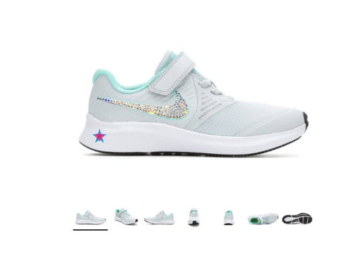 swarovski sneakers for kids