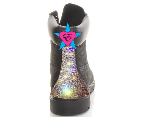 Sparkly Bling Timberlands