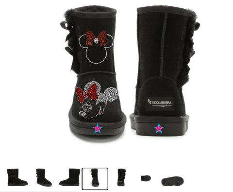 Minnie Mouse Ugg Boots