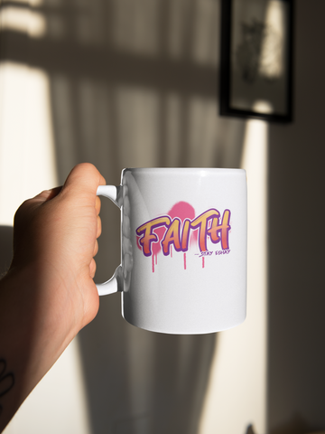 faith coffee mug