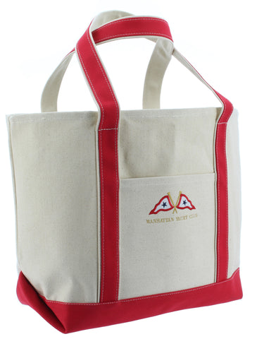Large Canvas Tote w/ MYC Logo
