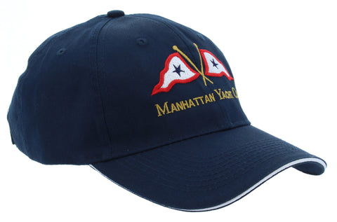 Cap - Navy w/ MYC Logo & White Trim