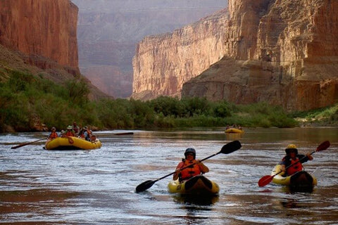 Grand Canyon kayaking day trip