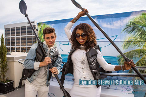 Brandon Steward & Donna Abja @ the MTV Movie Awards with Crystal Kayak