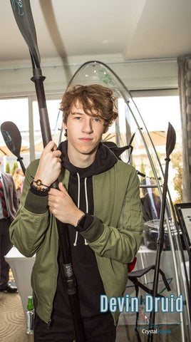 Devin Druid @ the MTV Movie Awards with Crystal Kayak