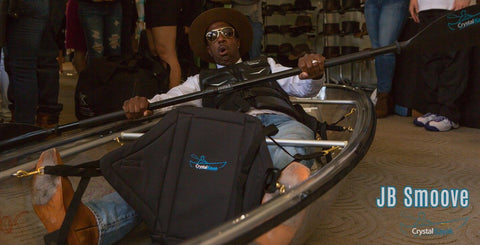 JB Smoove @ the MTV Movie Awards with Crystal Kayak