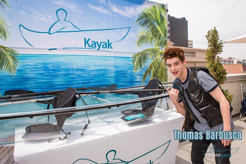 Thomas Barbusca @ the MTV Movie Awards with Crystal Kayak