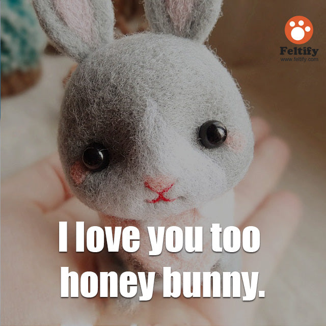 2015.6.24] Quotes From Needle Felted Wool Cute Animals | Feltify