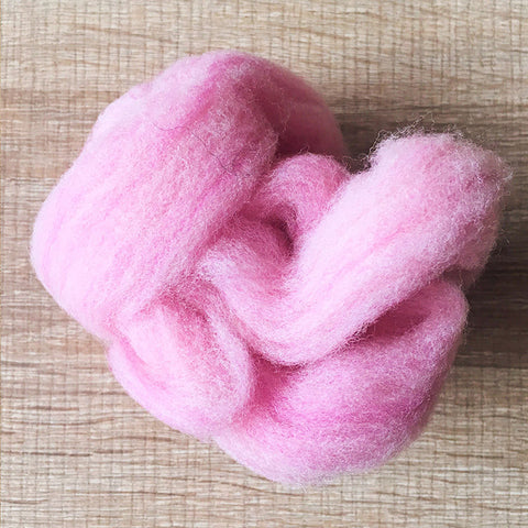 Needle felted wool felting MIX pink purple wool Roving for felting supplies short fabric easy felt