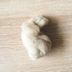 Needle felted wool felting light Champagne wool Roving for felting supplies short fabric easy felt