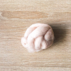Needle felted wool felting mix Peanut butter wool Roving for felting supplies short fabric easy felt