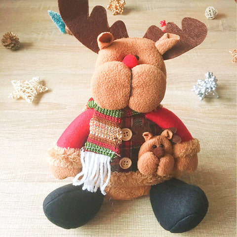 Christmas Cute Decoration Christmas reindeer decoration ornament felt knitting holiday xmas