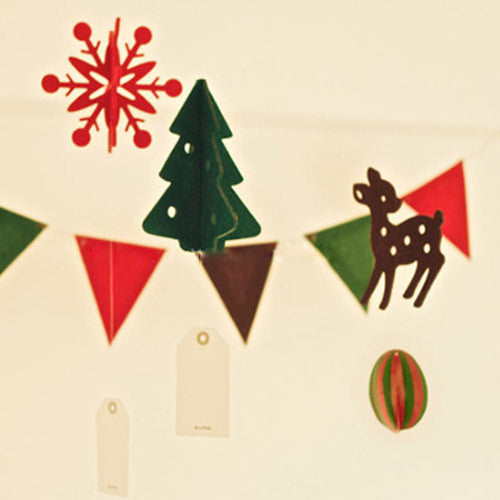 felt christmas decor felt 3d felt decorations diy banner flag snowman reindeer christmas tree snow cute gift felt board
