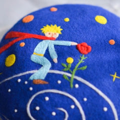 Handmade felted needle felted  The Little Prince wool Hat beret winter hat