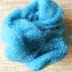 Needle felted wool felting Green Blue Green wool Roving for felting supplies short fabric easy felt