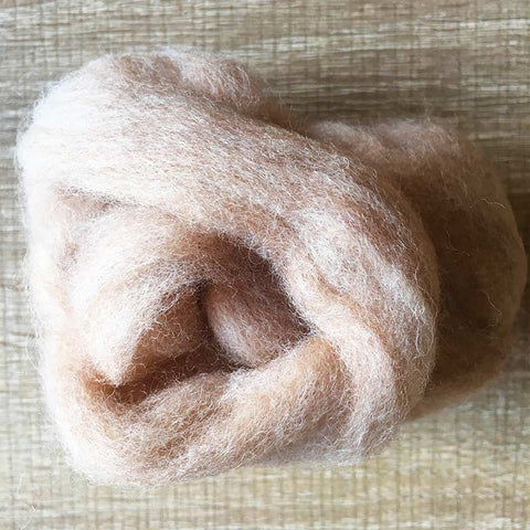 Needle felted wool felting MIX Jupiter wool Roving for felting supplies short fabric easy felt