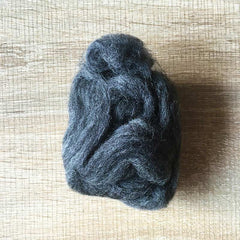 Needle felted wool felting MIX black wool Roving for felting supplies short fabric easy felt