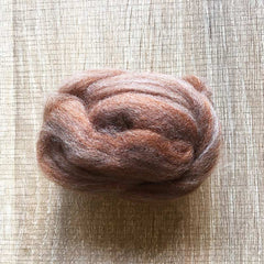 Needle felted wool felting MIX brown wool Roving for felting supplies short fabric easy felt