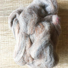 Needle felted wool felting MIX pebble wool Roving for felting supplies short fabric easy felt