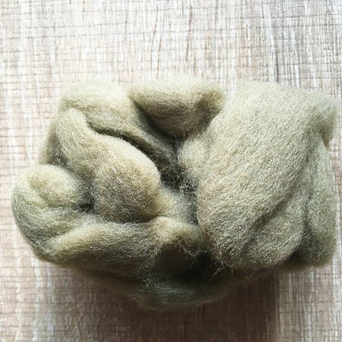 Needle felted wool felting flax wool Roving for felting supplies short fabric easy felt