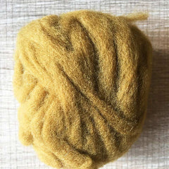 Needle felted wool felting gold copper wool Roving for felting supplies short fabric easy felt